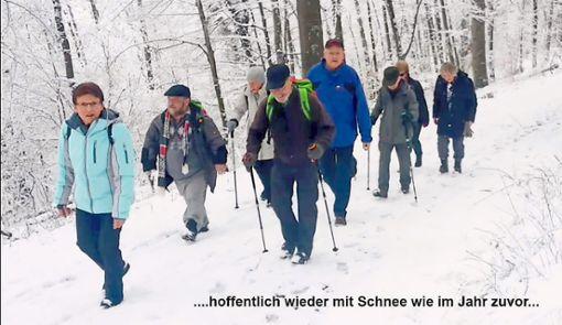 Die Wanderfreunde hoffen wieder auf Schnee.  Foto: Henke Foto: Schwarzwälder Bote