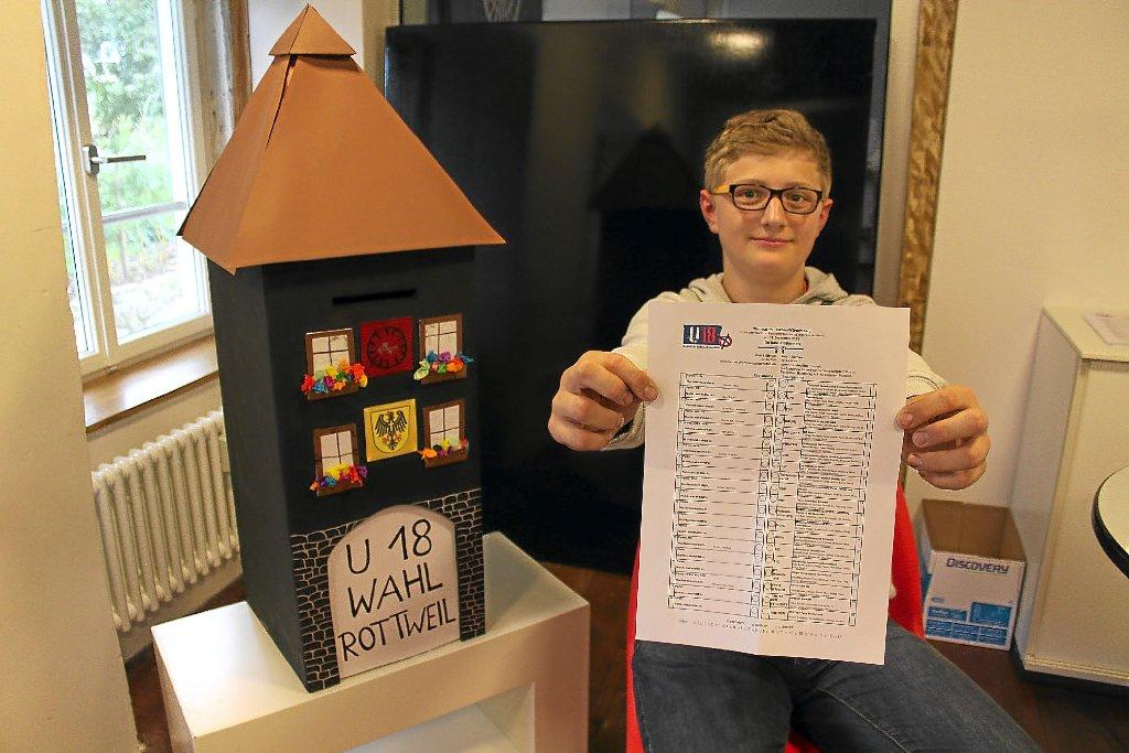 Rottweil Bei U18 Wahl Dürfen Die Jüngsten Wählen Aktuelles
