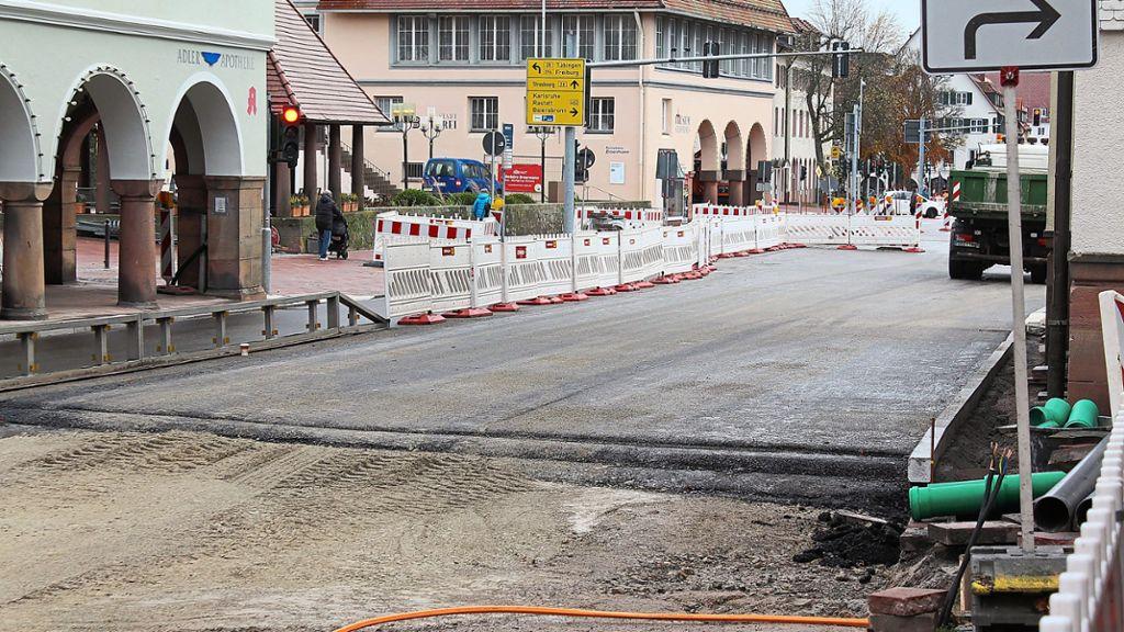 Freudenstadt: Martin-Luther-Straße vor Weihnachten fertig? - Freudenstadt - Schwarzwälder Bote