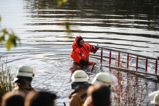 Viele Rettungskräfte waren im Einsatz. Foto: Marc Eich