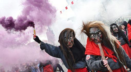 Die Hexen trieben in Horb ihr Unwesen. Foto: Maria Hopp