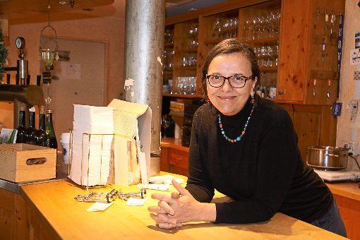 Erika Heck sieht die Auszeichnung Vorbildliches Dorfgasthaus für ihr Haus als Anerkennung für ihre Arbeit der vergangenen Jahre, in denen sie auch die Arbeit ihrer Eltern erfolgreich fortführte.     Foto: Beiter Foto: Schwarzwälder-Bote
