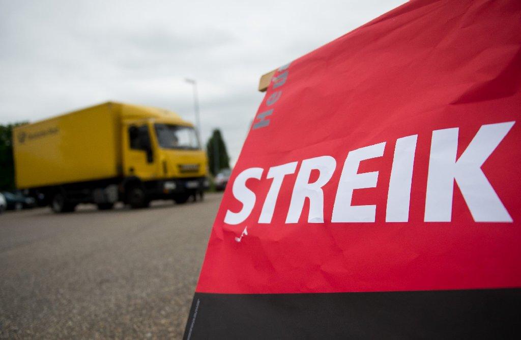 Streik Post Wo