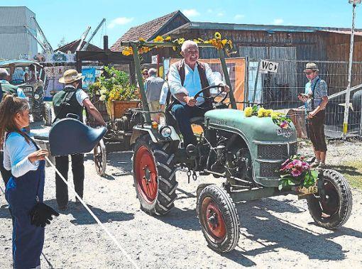 Die alten Landmaschinen sind ein Hingucker.  Foto: Archiv Foto: Schwarzwälder Bote