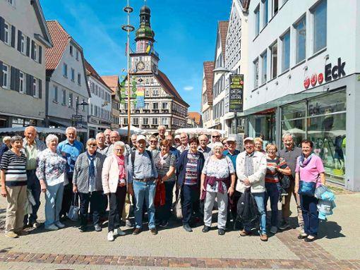 Einen Ausflug nach Kirchheim Teck unternahmen die Bosch-Rexroth-Rentner.  Foto: Rentner Foto: Schwarzwälder Bote