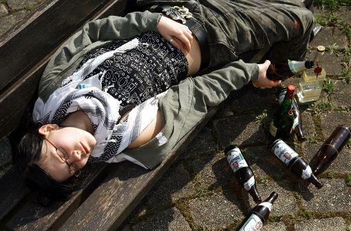 Mehr als 1,5 Promille Alkohol im Blut hatte eine 13-Jährige in Schwenningen. (Symbolfoto) Foto: dpa