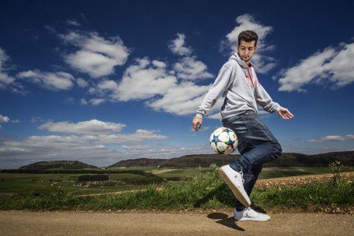 Er ist ein Meister am Ball: Patrick Bäurer Foto: Patrick Bäurer