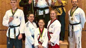 Sonstige: Achtmal Gold an TKD Althengstett