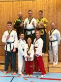 Achtmal Gold an TKD Althengstett