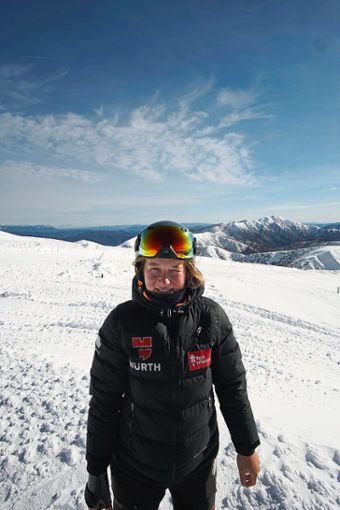 Die Bräunlingerin Jana Fischer fühlt sich in Neuseeland sichtlich wohl.   Foto: Harder Foto: Schwarzwälder Bote