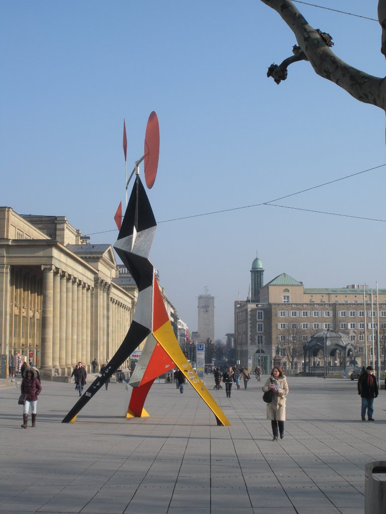 Auf Stuttgarts Flaniermeile ist was los: Sehen und gesehen