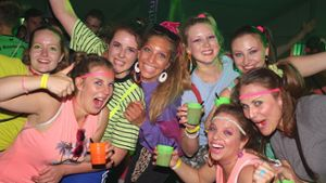 Calw: Schrille Outfits bei Bad-Taste-Party in Hirsau