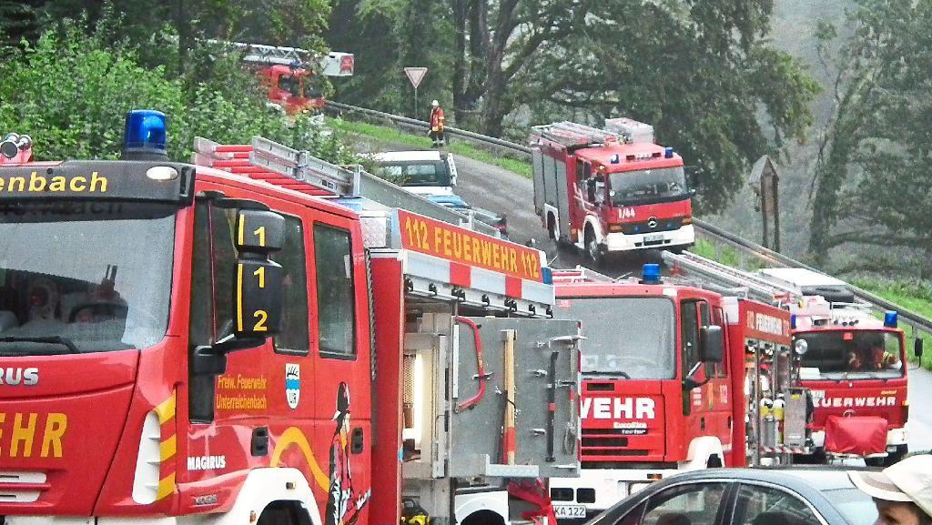 Unterreichenbach: Feuerwehr Kapfenhardt gefährdet - Calw