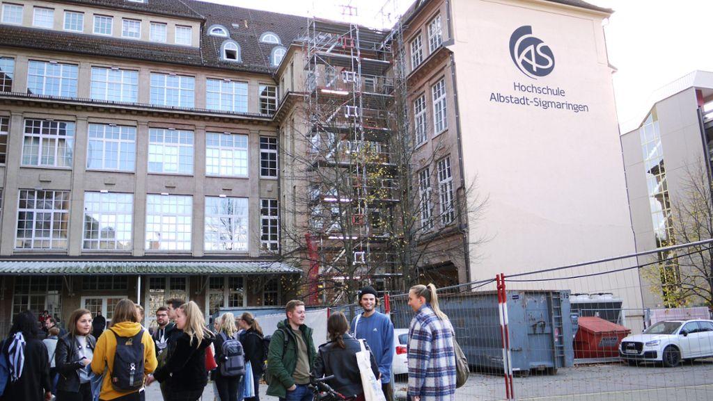 Albstadt: Keine Einsturzgefahr mehr für Hochschul-Haus - Schwarzwälder Bote - Schwarzwälder Bote
