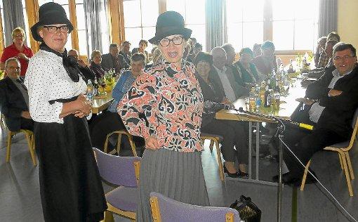 In Fürstenberg boten die Landfrauen der älteren Generation einen kurzweiligen Nachmittag. Foto: Bombardi Foto: Schwarzwälder-Bote