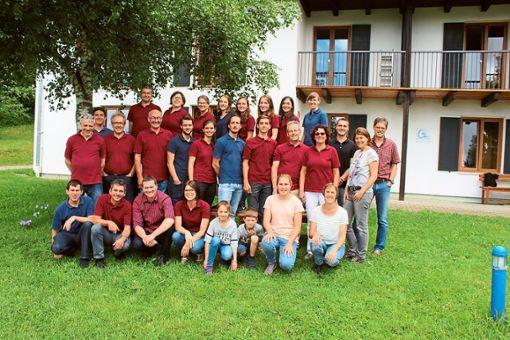 Die Mitglieder des Posaunenchors haben die Freizeit im Allgäu genossen.  Foto: Verein Foto: Schwarzwälder Bote