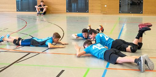 Bei der Württembergischen Meisterschaft in der heimischen Doppelsporthalle möchte die U17 des TSV Rottweil eine gute Rolle spielen.  Foto: Estermann Foto: Schwarzwälder Bote