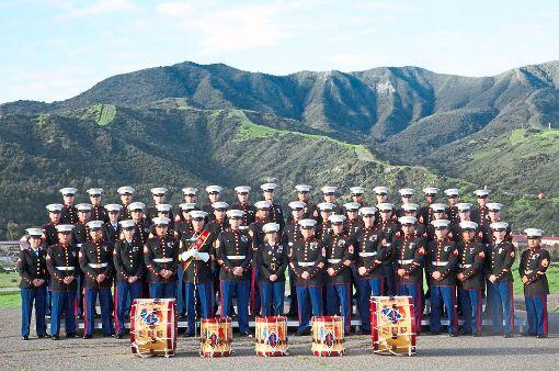 Die 1st Marine Division Band gibt ein Gastspiel in Rottenburg.  Foto: Bürgerwache Foto: Schwarzwälder-Bote