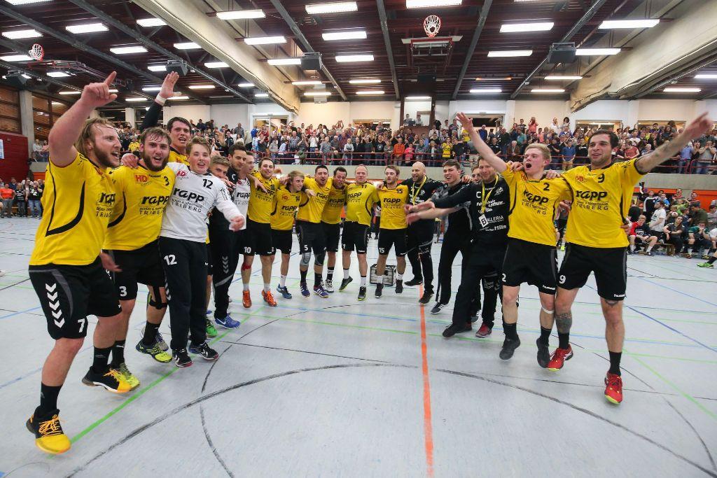 handball tv st georgen jubelt ber meisterschaft handball schwarzw lder bote. Black Bedroom Furniture Sets. Home Design Ideas
