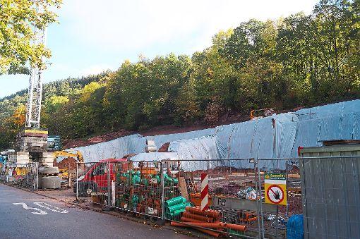 Mit den Bauarbeiten wurde begonnen.   Foto: Krokauer Foto: Schwarzwälder-Bote