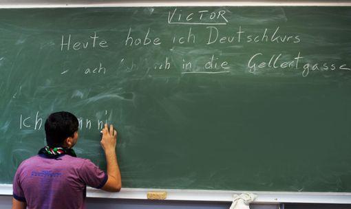 Baden-Württemberg fördert seit 2015 Deutsch-Sprachkurse für Asylbewerber und Flüchtlinge, die nicht aus sicheren Herkunftsländern stammen. (Symbolfoto) Foto: Bruna