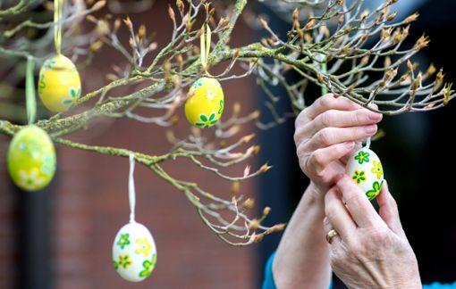 An Ostern werden Häusern und Gärten mit Osterschmuck herausgeputzt – auch ein Brauch. Welche es noch gibt, kann man Ostermontag bei einer Stadtführung erfahren.  Foto: Dittrich Foto: Schwarzwälder Bote