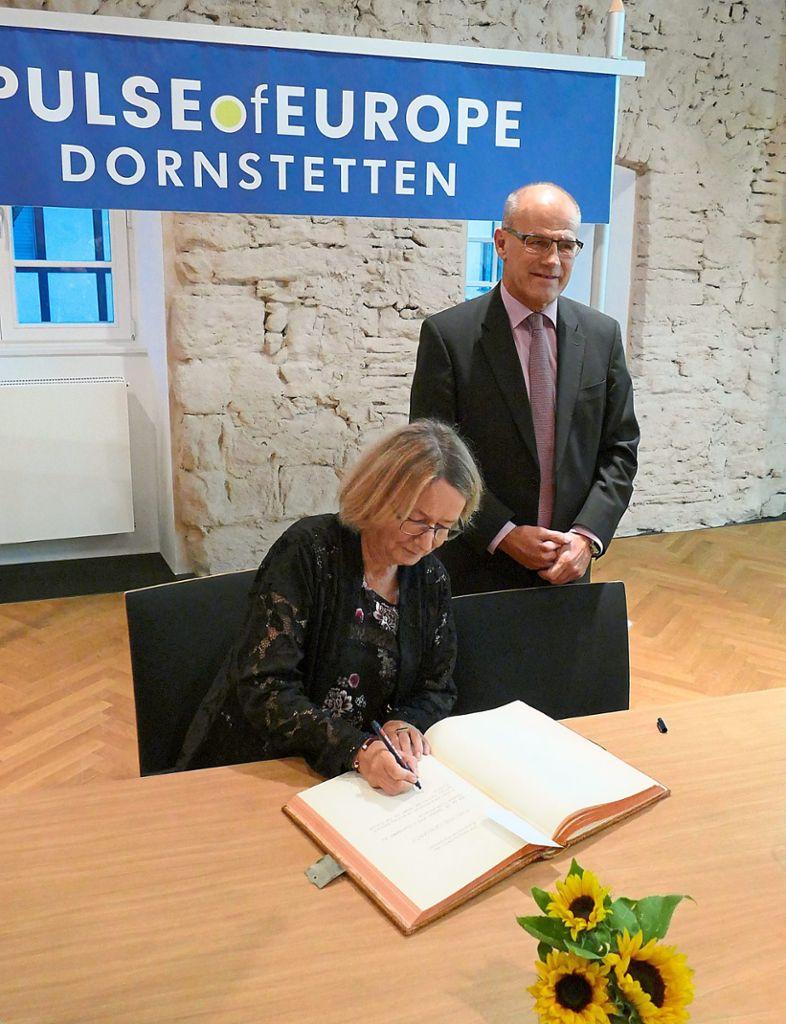Dornstetten: Fragen an eine Frau im Zentrum der EU ...