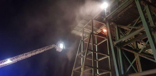 Die Feuerwehr konnte den Brand schnell löschen. Foto: Feuerwehr Trossingen/Deleye