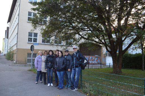 Wollen sich die Pläne für das neue Studentenwohnheim nicht gefallen lassen: die Anwohner der Werastraße. Foto: Kratt