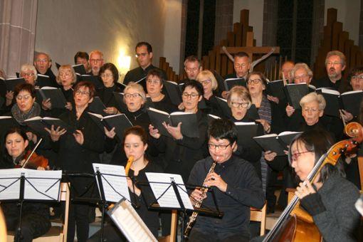 Die Kantorei und das Orchester Cappella Vivace Rottweil musizierten bereits gemeinsam.  Archiv-Foto: Vollmer Foto: Schwarzwälder Bote