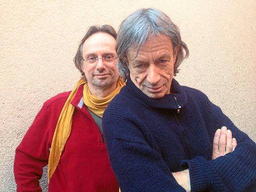 Rupert Hausner (rechts) und Bernhard Mohl sind eingespielte Bühnenpartner.  Foto: Promo Foto: Schwarzwälder-Bote