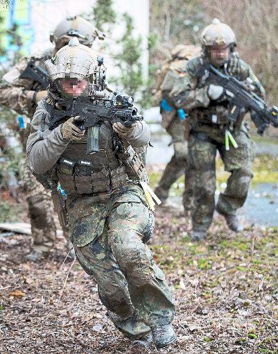 Das KSK wird sich auch unter Kommandeur Alexander Sollfrank weiterentwickeln.   Foto: Nietfeld