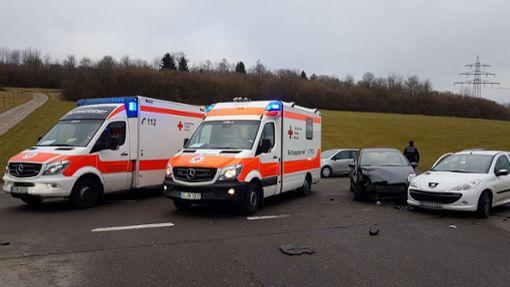 Zwischen Villingen und Nordstetten hat es gekracht. Foto: Spitz