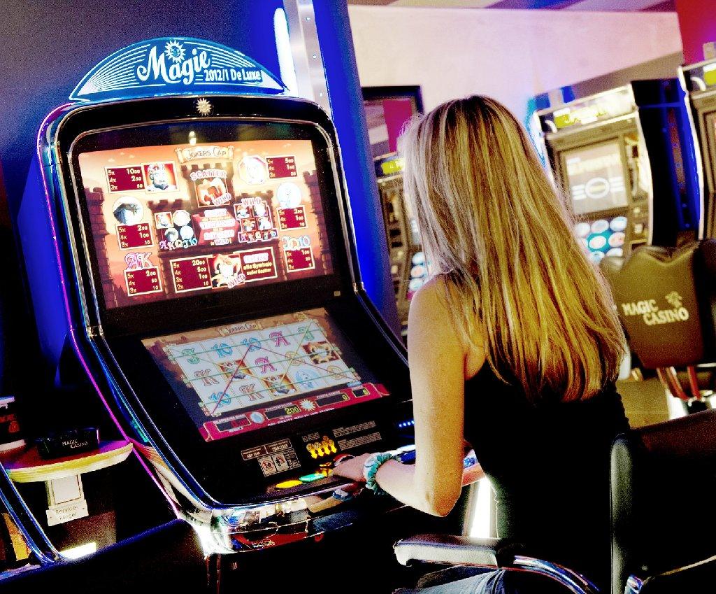 Spielsucht Frau