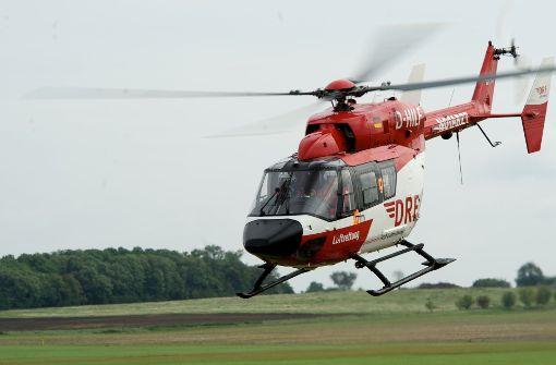 In Villingen-Schwenningen soll bald der erste 24-Stunden-Hubschrauber Baden-Württembergs stationiert werden. Symbolbild. Foto: dpa-Zentralbild