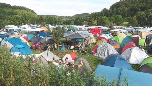 Auf dem Campingplatz haben die Mini-Rock-Diebe 2017 zugeschlagen. Foto: Hopp