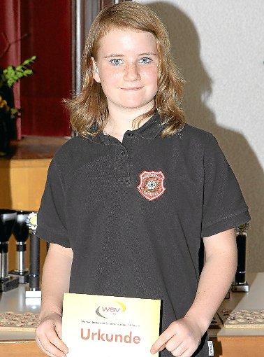 Melanie Stabel vom SSV Bad Herrenalb holte sich mit dem Klasseresultat von 194 Ringen die Landesmeisterschaft. Foto: Kraushaar Foto: Schwarzwälder-Bote