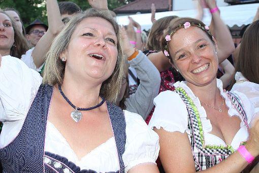 Beste Stimmung herrschte beim Auftritt der Dorfrocker in Bad Dürrheim. Foto: Bartler-Team