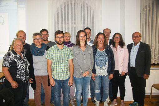 Der neue Ortschaftsrat von Hausen hatte schon in seiner ersten Sitzung die wichtige Beratung über das Baugebiet Oberer Brühl II.   Foto: Rapthel-Kieser Foto: Schwarzwälder Bote