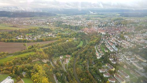 Die höchste Aussichtsplattform Deutschlands - auf dem Test-Turm in Rottweil - wird eröffnet. Foto: Campos
