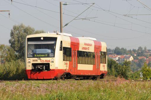 Grund für den Ausfall sind umfangreiche Bauarbeiten der DB Netz AG entlang der Strecke.  Foto: Archiv