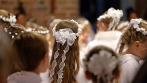 Religion: Kommunionkinder 2019 in der Region