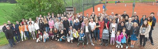 Zum großen Kreidler-Treffen kamen weit mehr als 100 Familienangehörige nach Salzstetten, wo die Kreidlers ihre Wurzeln haben.  Fotos: Maier Foto: Schwarzwälder Bote