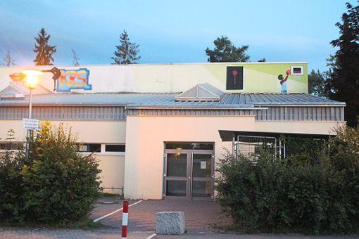 Die Kreuzerfeldhalle ist in die Jahre kommen und soll spätestens zwischen 2023 und 2028 saniert werden.    Foto: Rath Foto: Schwarzwälder Bote