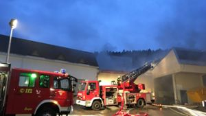 Nagold: Starker Rauch bei Brand in Iselshausen