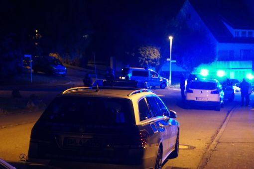 Der Tatort kurz nach der schrecklichen Tat in Villingendorf im September 2017. Schon einmal soll der Beschuldigte Drazen D. Morddrohungen gegenüber einer Expartnerin ausgesprochen haben. Foto: SDMG / Maurer