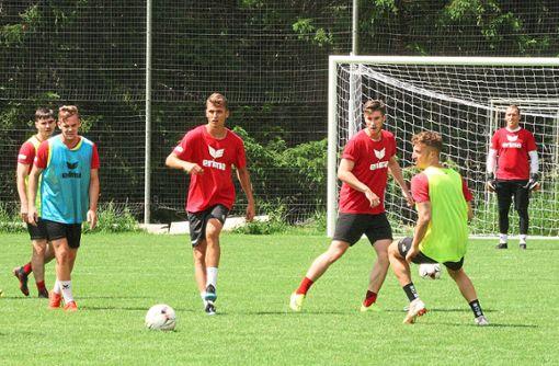Noch einige Trainingseinheiten und zwei Testspiele haben die Balinger Regionalliga-Fußballer zu absolvieren, ehe sie in ihre zweite Saison in der Regionalliga Südwest starten. Foto: Eibner