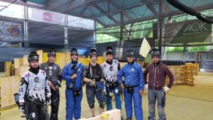 Bad Liebenzell: Reporter testen Polis Paintball Place