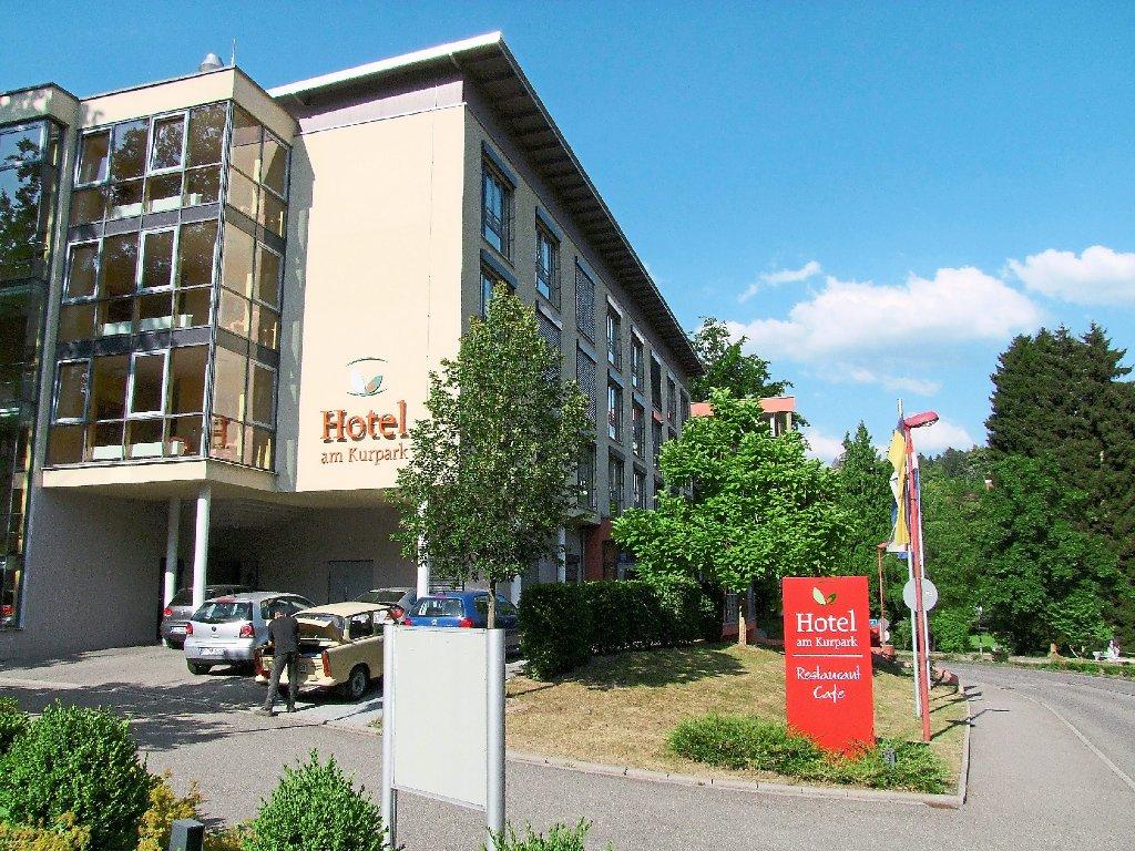 Bad Herrenalb Hotel Umbau