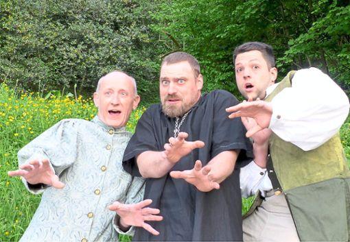 Ab Freitag ist Burg Husen fest in Geisterhand: Die Burgfestspiele feiern mit Der Geisterschatz Premiere.   Foto: Veranstalter Foto: Schwarzwälder Bote